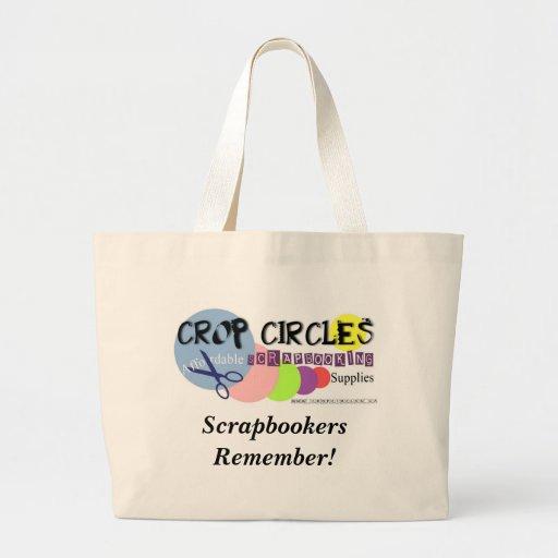¡Los Cosecha-Círculos, Scrapbookers recuerdan! Bolsas De Mano