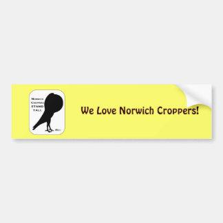 Los cosechadores de Norwich se colocan altos Pegatina Para Auto