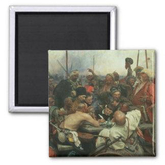 Los Cossacks de Zaporozhye Imán Cuadrado