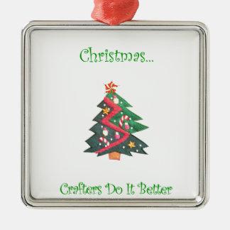 Los Crafters del navidad… mejora Ornamento De Reyes Magos