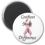 Los Crafters hacen un imán de la diferencia