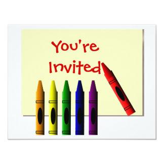 Los creyones le invitan invitación personalizada