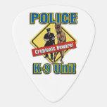 Los criminales de la policía K9 se guardan Púa De Guitarra