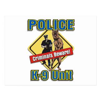 Los criminales K9 se guardan Postal