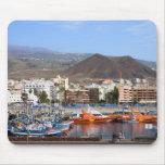 Los Cristianos en Tenerife Alfombrilla De Ratón