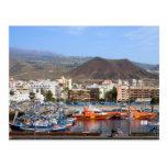 Los Cristianos en Tenerife Tarjeta Postal