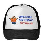 Los cristianos no son perfectos gorro de camionero