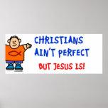 Los cristianos no son perfectos impresiones