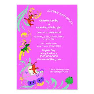 Los Critters lindos de Cajun es una fiesta de Invitación 12,7 X 17,8 Cm