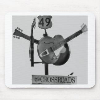 Los cruces tapete de ratón