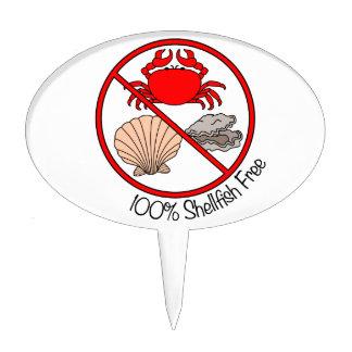 Los crustáceos del 100% liberan palillos de tarta