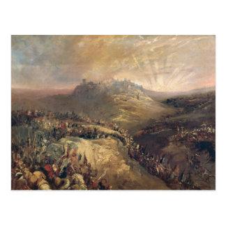 Los cruzados antes de Jerusalén Postal