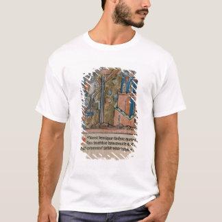 Los cruzados bombardean Nicaea con las cabezas en Playera