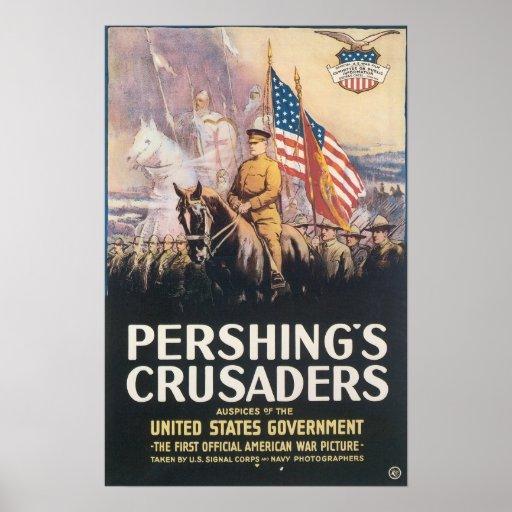 Los cruzados de Pershing Impresiones
