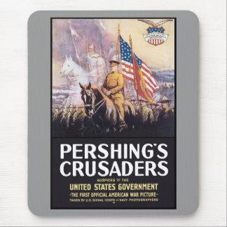 Los cruzados de Pershing Tapetes De Ratón