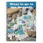 ¡Los cuadernos de la playa quieren ir a la playa?!