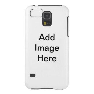 Los cuadrados sutiles ROSADOS hacen su teléfono de Carcasas De Galaxy S5