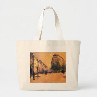 Los cuarteles de Perpiniere de Gustave Caillebotte Bolsa Tela Grande