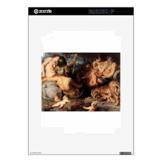 Los cuatro continentes de Peter Paul Rubens iPad 2 Skins