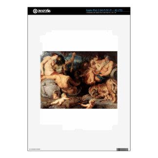 Los cuatro continentes de Peter Paul Rubens Pegatina Skin Para iPad 3