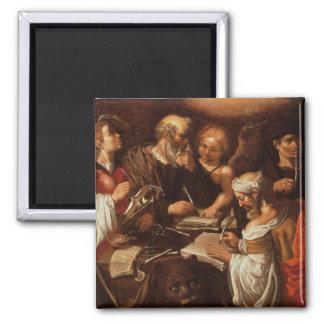 Los cuatro evangelistas imán de frigorífico