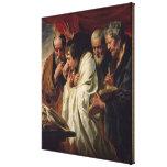 Los cuatro evangelistas impresión de lienzo
