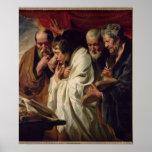 Los cuatro evangelistas póster
