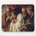 Los cuatro evangelistas tapetes de ratones