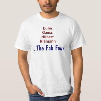 Los cuatro fabulosos camisas