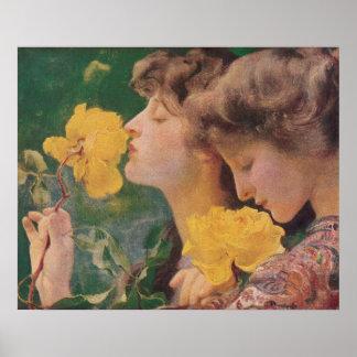 Los cuatro rosas de Frant Dvorak Impresiones