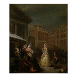 Los cuatro tiempos del día Mañana 1736 Poster