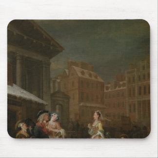 Los cuatro tiempos del día: Mañana, 1736 Alfombrillas De Ratón
