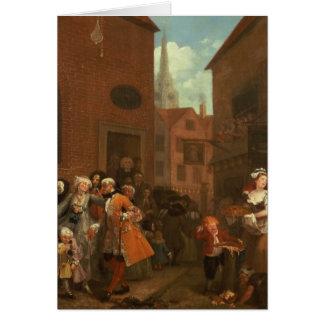 Los cuatro tiempos del día: Mañana, 1736 Tarjetas