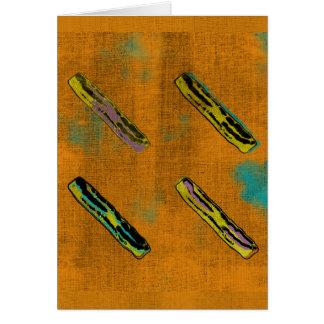 Los cuatro tocinos tarjeta de felicitación