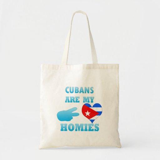 Los cubanos son mi Homies Bolsa Tela Barata