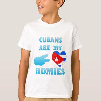 Los cubanos son mi Homies Playera