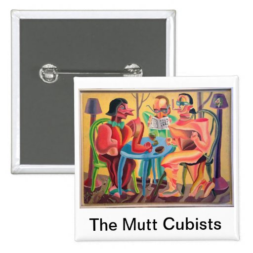 Los cubistas del Mutt de Don Evans Pins
