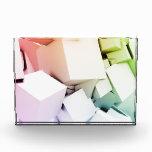 Los cubos ajustan el fondo en 3d como extracto
