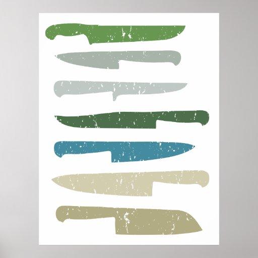 Los cuchillos del cocinero poster