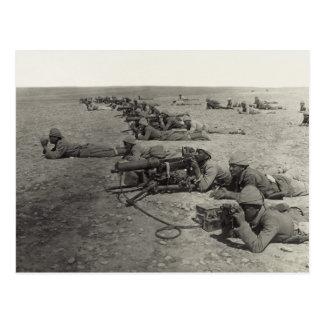 Los cuerpos de la ametralladora del otomano dicen tarjeta postal