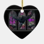 Los cuervos bendijeron el ornamento personalizado ornamentos de navidad