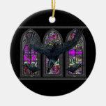 Los cuervos bendijeron Samhain personalizados Adorno De Reyes