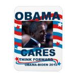 Los cuidados de Obama del imán de Flexi piensan ad