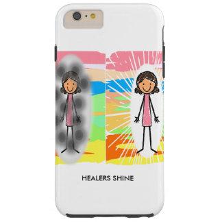 """Los """"CURADORES BRILLAN"""" el iPhone 6/6s más, duro Funda Resistente iPhone 6 Plus"""