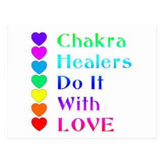 Los curadores de Chakra lo hacen con amor en Postales