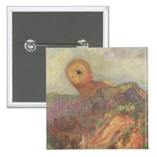 Los Cyclops, c.1914 Pin Cuadrado