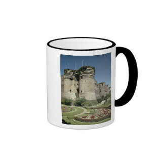 Los d Angers del castillo francés terminados 1238 Taza
