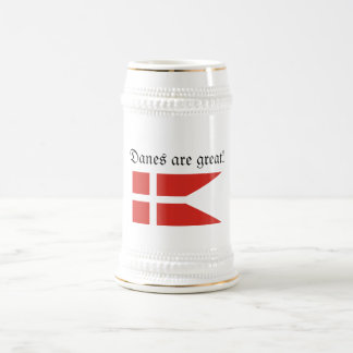 Los daneses son gran Stein Taza