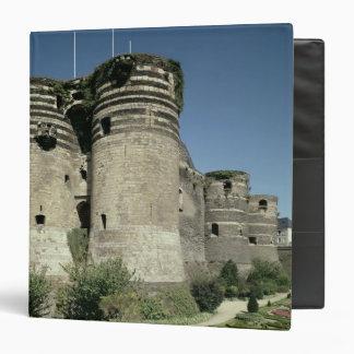 """Los d'Angers del castillo francés, terminados 1238 Carpeta 1 1/2"""""""