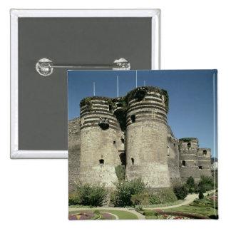 Los d'Angers del castillo francés, terminados 1238 Pin Cuadrado